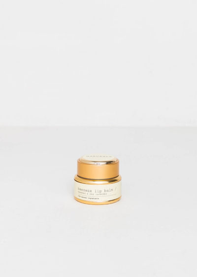Beeswax lip balm by Haeckels