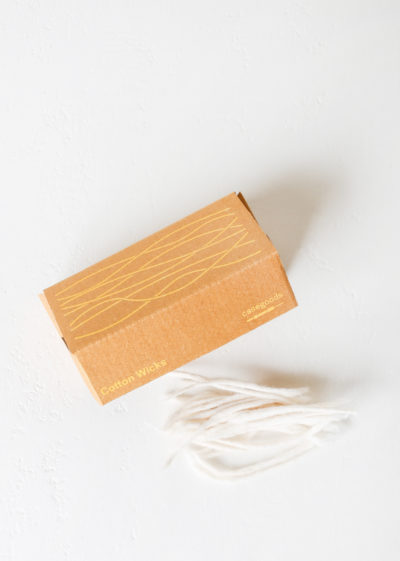 Extra wicks for 'Diya' oil lamps by Case Goods