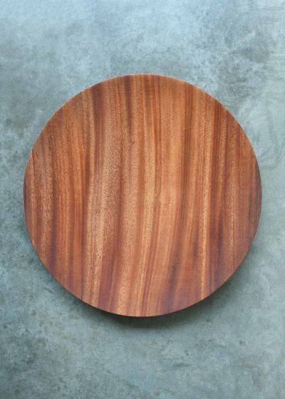 Topologic Mahogany bowl (40 cm) by Case Goods