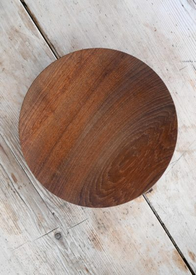 Topological Teak bowl (26 cm) by Case Goods