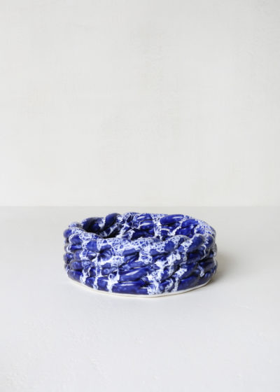 Small 'Anaphi' bowl (blue/white) by CristaSeya