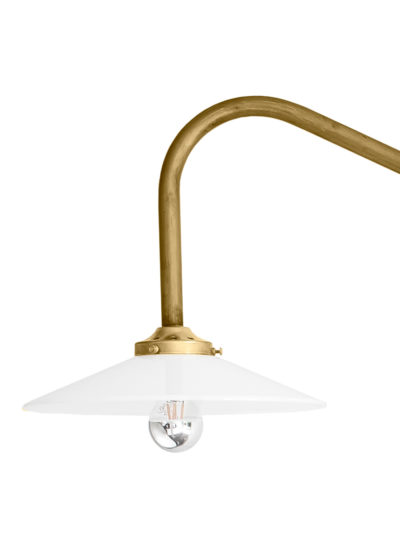 Hanging lamp no 1 brass by Muller van Severen for valerie_objects