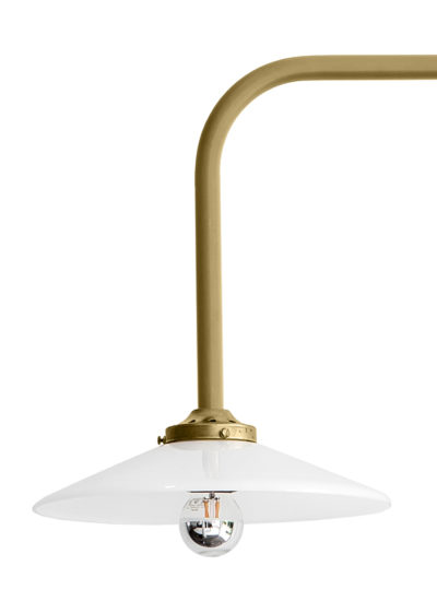 Hanging lamp no. 5 brass by Muller van Severen for valerie_objects