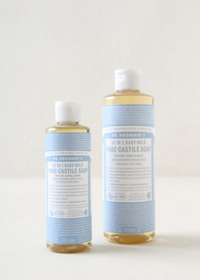 Unscented baby soap 240 ml