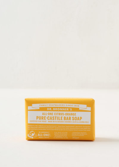 Soap bar by Dr Bronner's