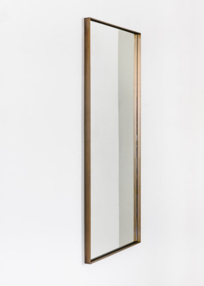 Tall 'Edie' in aged brass by illus