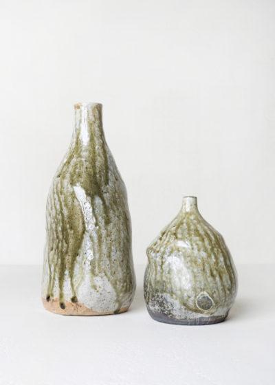 Large glazed ceramic vase by Ghesq x Graanmarkt 13