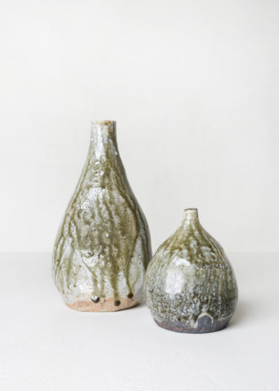 Medium glazed ceramic vase by Ghesq x Graanmarkt 13