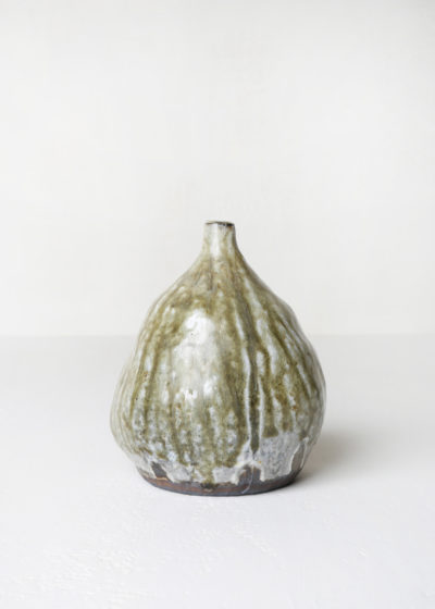 Medium glazed ceramic vase by Ghesq x Graanmarkt 13