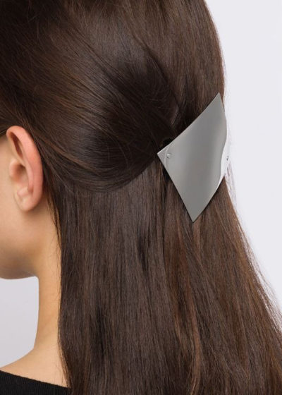 Square 'Barrette 084' hair clip by Sylvain Le Hen