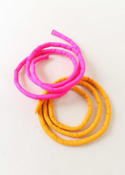 Nylon waist belt by KASSL editions