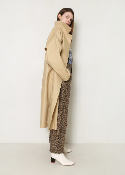 Below the knee belted trench (beige) by KASSL editions