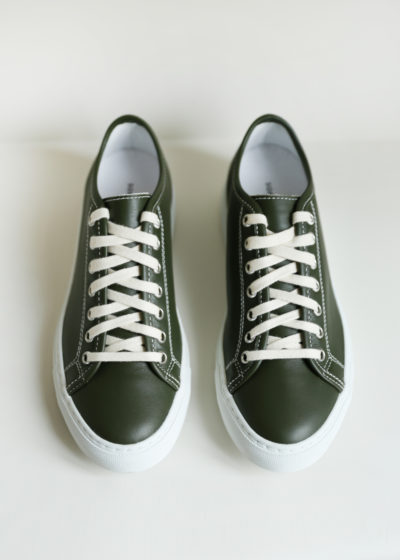 'Frida' leather forest sneakers by Sofie D'hoore