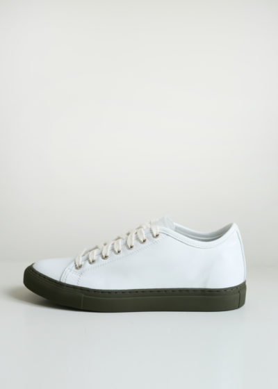 'Frida' khaki sole sneakers by Sofie D'hoore