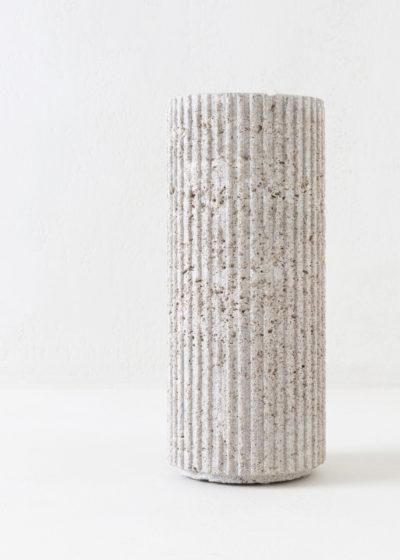 German limestone vase