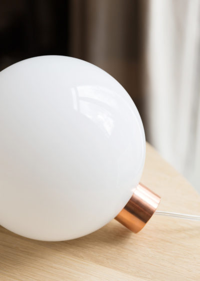 Bulb lamp by Minimalux