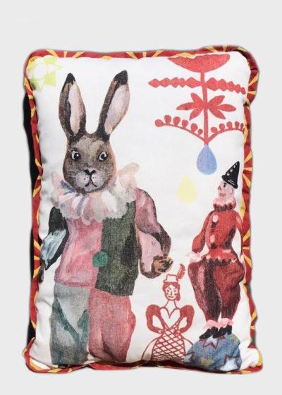 Circus pillow (available in 4 prints) by Nathalie Lété x Design Farm Productions