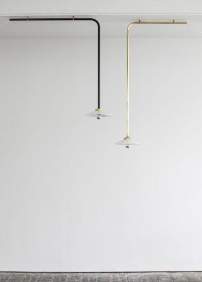Ceiling lamp no 1 black by Muller van Severen for valerie_objects