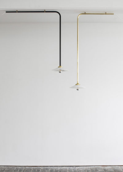 Ceiling lamp no 2 brass by Muller van Severen for valerie_objects