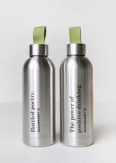 'Bottled Poetry' bottle by Drink Big