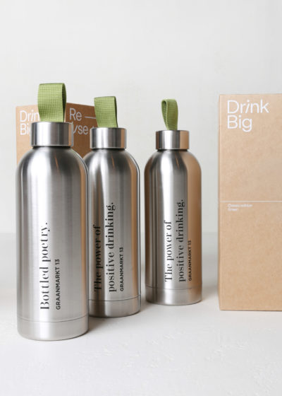 'The Power of Positive Drinking' bottle by Drink Big