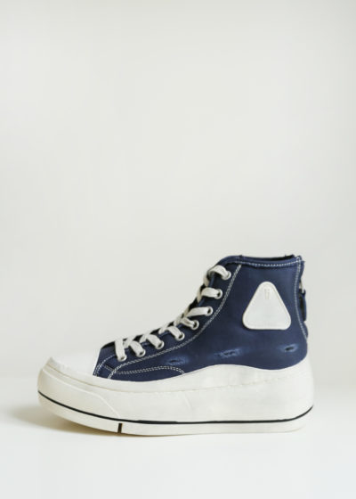 High top platform sneakers by R13