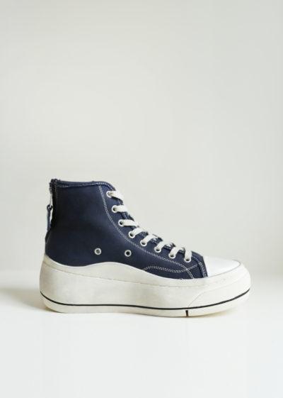 High top platform sneakers by R13