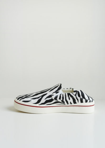 Zebra slip on sneakers by R13