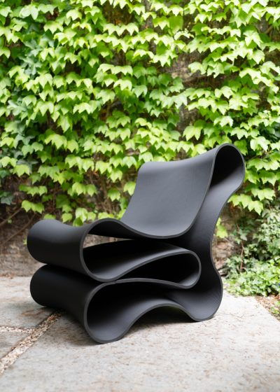 Lounge chair - Black by Reform