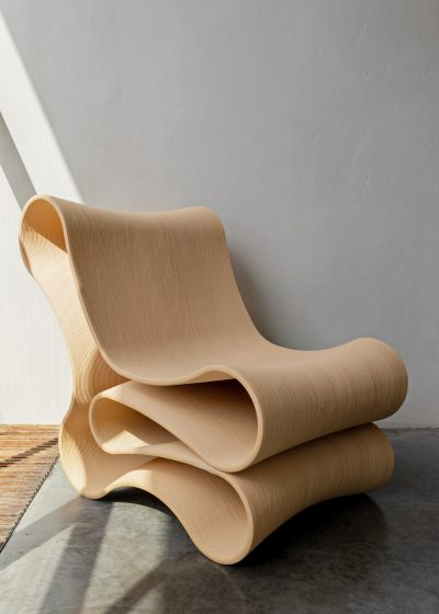 Lounge chair - Wood by Reform