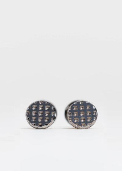 Faux jumeaux cufflinks by Samuel Gassmann