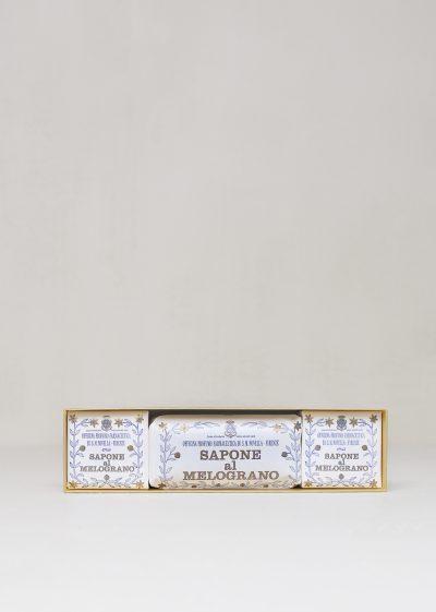 Sapone al Melograno (Box of 3 Pieces) by Santa Maria Novella