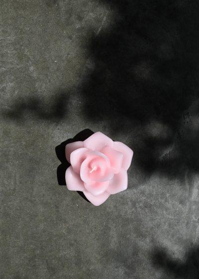 Rosa Shaped Scented Candle by Santa Maria Novella