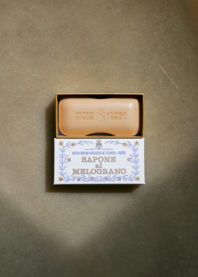 Melograno bath soap by Santa Maria Novella
