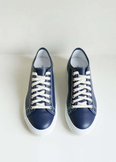 'Frida' blue sneakers by Sofie D'hoore