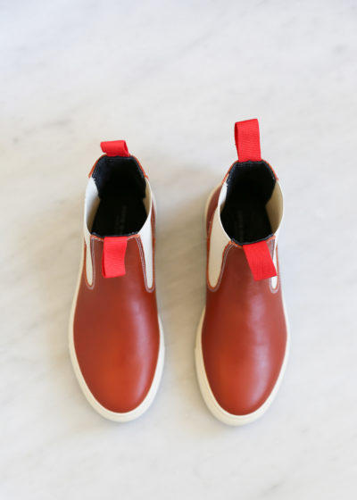 Faro boots in Terracotta by Sofie D'hoore