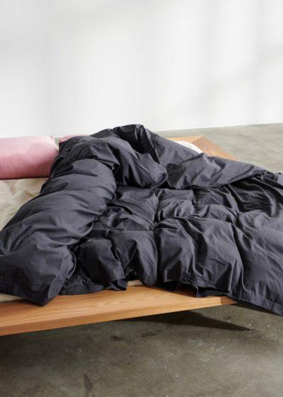 Cotton flat sheet 260x260 cm by Tekla Fabrics