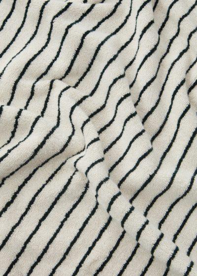 Beach towel Racing Green by Tekla Fabrics