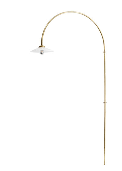 Hanging lamp no 2 brass by Muller van Severen for valerie_objects