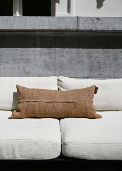 'Sac a grains' pillow 95x45cm by Isabelle Yamamoto